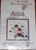 Lavender Love - Blackberry Lane Brazilian Embroidery pattern #123