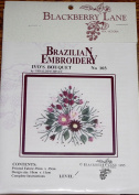 Ivo's Bouquet - Blackberry Lane Brazilian Embroidery pattern #103
