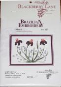 Irises - Blackberry Lane Brazilian Embroidery pattern #127