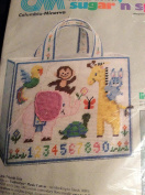 Columbia-Minerva Plastic Canvas Little Friends Tote Bag Kit 8443