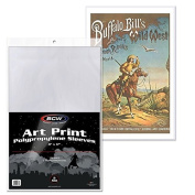 BCW 11 X 17 ART PRINT POSTER SLEEVES