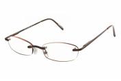 Magnivision Elegant Eyes Kristin Unisex Rimless Reading Glasses 2.75
