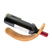 Wood Handcrafted Wine Bottle Holder by Hide & Drink :