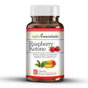 Raspberry Ketone with African Mango & Green Tea Extract - 500 mg per serving