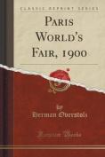 Paris World's Fair, 1900