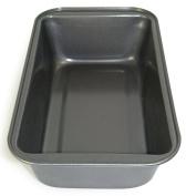Ecolution Bakeins Medium Loaf Pan - PFOA, BPA, and PTFE Free Non-Stick Coating - Heavy Duty Carbon Steel - Dishwasher Safe - Grey - 22cm x 11cm x 6.4cm