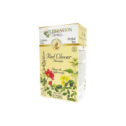 CELEBRATION HERBALS, Red Clover Blossoms Organic, 25 GM