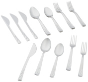 ExcelSteel Venice 20 PC Cutlery Set in Window Box, , Stainless Steel