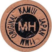 Kamui Original Brown 11mm Snooker Cue Tip Medium Hard (MH) Layered Pigskin Leather Pool Cue Stick Tip