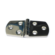 Stainless Steel AISI316 Cast Cabinet Drawer Door Butt Hinges 7.6cm Length,Mirror Polished