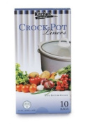 Cooking Bags Slow Cooker Liners, 10 Count Per Box, Pack Of 3, Total Of 30 Crock Pot Liner Bags