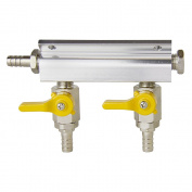 Kegco 2-Way Kegerator Beer Gas / Air Distributor