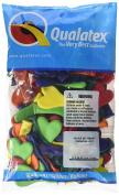Qualatex Heart Balloons Assorted