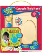 Works of Ahhh Keepsake Heart Box Wood Paint Kit