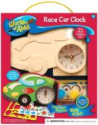 Works of Ahhh Race Car Clock Wood Paint Kit