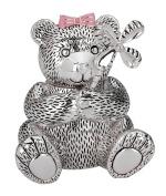 Children's Giftware 13cm Girl Bear with Pinwheel Bank