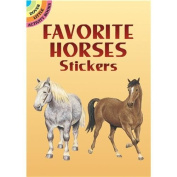 Dover Publications-Favourite Horses Stickers