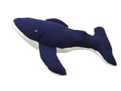Endangered Species Humpback Whale Toy in Blue