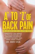 A-Z of Back Pain