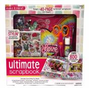 Make it Mine Ultimate Scrapbook - 40 Page Kid's Hardcover Scrapbook Kit