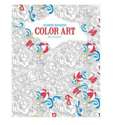 Wonders Colour Art For Everyone Adult Colouring Book - Summer