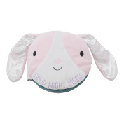 Hallmark Baby Scented Plush Book, Good Night Kisses Snuggly Pink Bunny