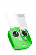 Silicone Protector for Remote Control DJI Phantom 4 / Phantom 3 Professional & Advanced / DJI Inspire 1 / M100 by C11 Green