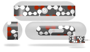 Locknodes 04 Red Dark Decal Style Skin - fits Beats Pill Plus