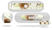 Flowers Pattern 19 Decal Style Skin - fits Beats Pill Plus