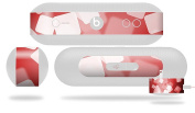Bokeh Squared Red Decal Style Skin - fits Beats Pill Plus