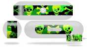 Skull Camouflage Decal Style Skin - fits Beats Pill Plus