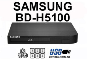 """NEW for Samsung BD-H5100 (Compact 12W"""" x 2H"""" x 8D"""") Multi Zone All Region Blu Ray DVD Player - 1 HDMI, 1 COAX, 1 ETHERNET connexions +"""