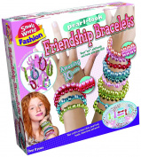 Small World Toys Small World Fashion - Pearl Look Friendship Bracelets Craft Kit