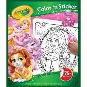 Crayola Disney Palace Pets Colour 'n Sticker Books