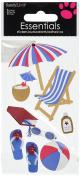 Sandylion On The Beach Essentials Sticker, Large