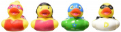 Rhode Island Novelty 5.1cm Super Hero Rubber Ducks