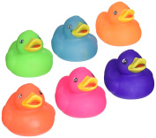 Rhode Island Novelty 5.1cm Solid Colour Rubber Duck