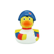 Lilalu Collector & Baby Napoleon Rubber Duck Bath Toy, 8 x 8cm