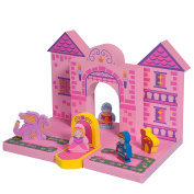BathBlocks Floating Castle Set in Gift Box