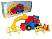 Wader Quality Toys Construct Excavator Toy