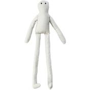 Darice Long Leg Muslin Doll with Wire, 36cm