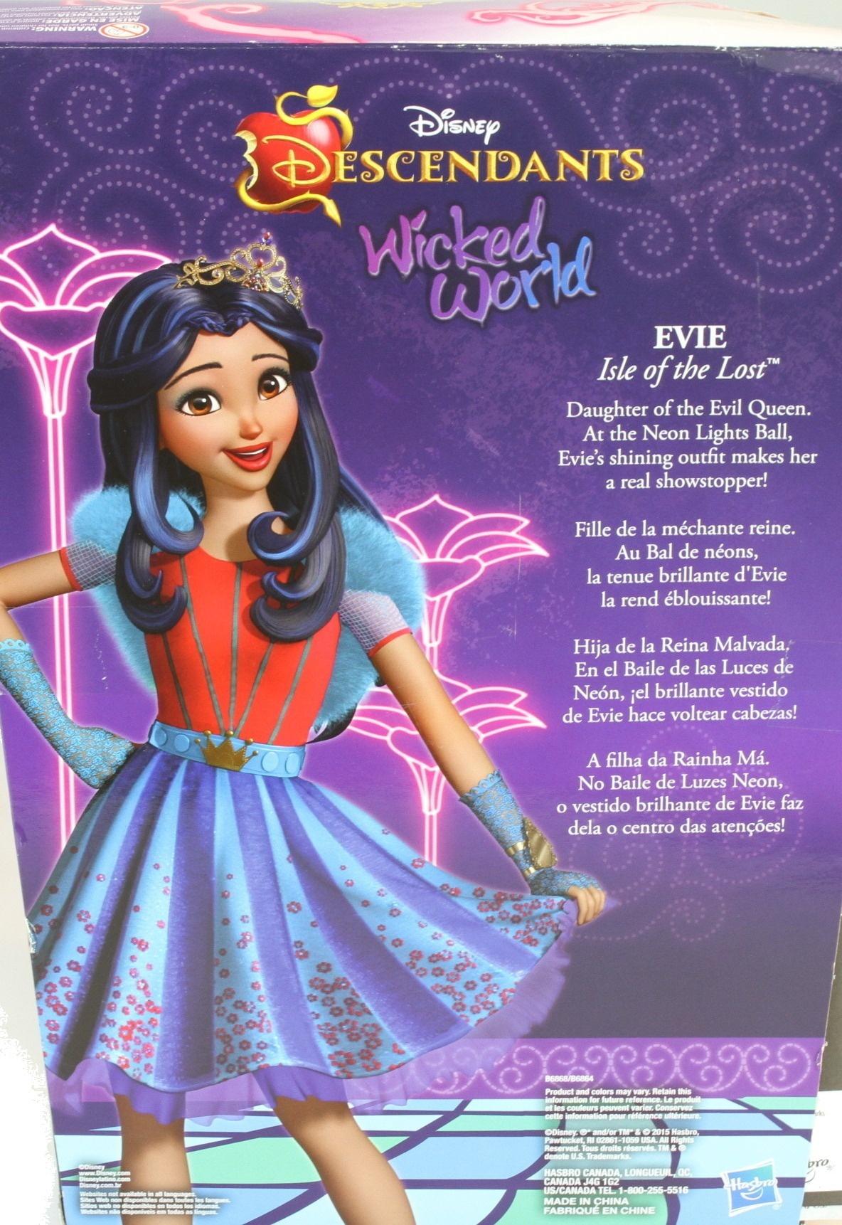 Disney Descendants Neon Lights Feature Evie of Isle of the Lost