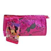 WeGlow International Minnie Mouse Pink Foil Cosmetic Bag
