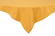 Riegel Premier 100-Percent Polyester 130cm by 300cm Tablecloth, Gold
