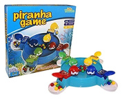 Little Treasures Hungry Piranha Game, Feed the Hungry Piranha Before the Other Piranhas Eat Up All the Balls Fun Kids 3D Board Game
