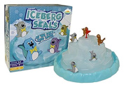 Little Treasures Seals Pile-Up Iceberg Game, the Seals Have Happy-Feet Tumble Down the Icy Mountain Steady Hand and Careful Planning Game