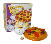 Little Treasures Balancing Pile Up Game, Add Toppings on the Pizza But Don't Let Them Fall of the Pizza Man's Pie
