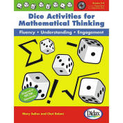 Didax Educational Resources Dice Activities For Mathematical Think