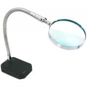 2x Flexible Desktop Magnifier Jewellers Hands Free Tool