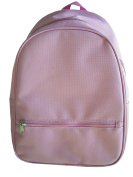 School Smart Youth Backpack with Inside Pocket and Small Front Pocket with Hidden Zipper - Pink